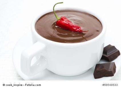 ine Tasse leckeren Gewürzkakao mit Chili ,© cook_inspire